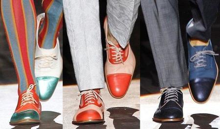 El zapato bicolor arrasa esta Primavera-Verano 2011