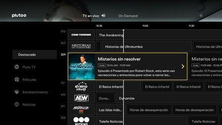 Pluto TV en PS5