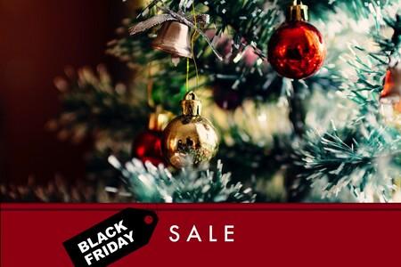 Decoración navideña de oferta en el Black Friday 2020: luces, árboles y algunos otros detalles con descuento