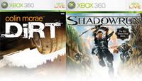 Colin McRae DIRT y Shadowrun en Xbox Live