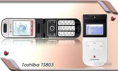 Toshiba 803T, precioso móvil