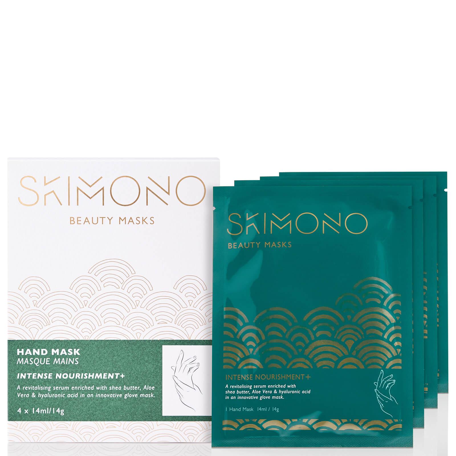 Mascarilla de manos Beauty para nutrición intensiva de Skimono 4x