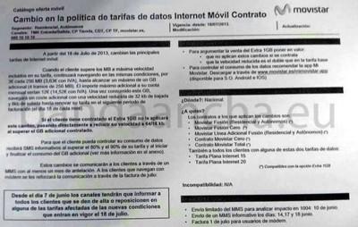 Movistar recula de momento en su intención de cobrar por el exceso de datos