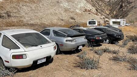 Porsche 298 Abandonados En California 3