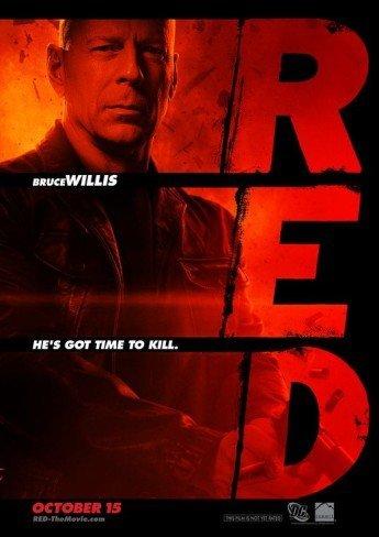 'Red' con Bruce Willis, cartel