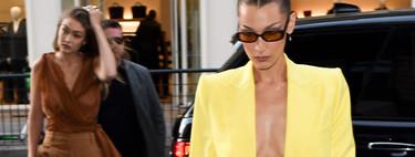 Los blazer cropped son el must de la temporada, palabra de Bella Hadid e Izabel Goulart