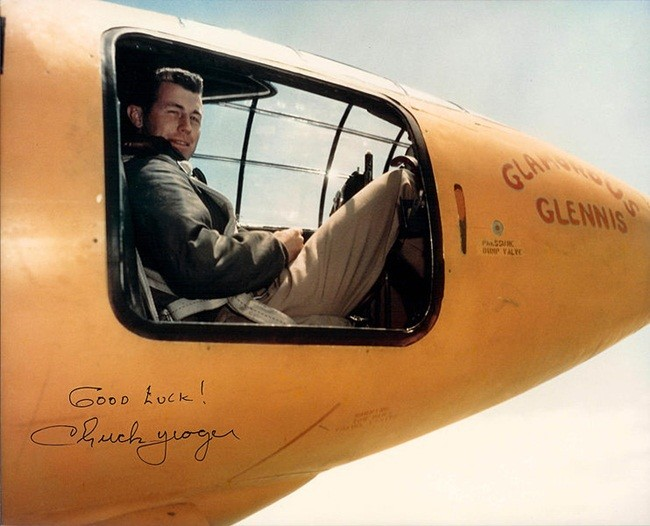 Chuck Yeager Y Bell X 1 A Color