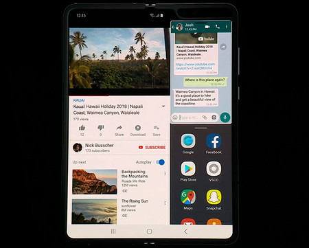 Galaxy Fold Primer Telefono Flexible Samsung 4