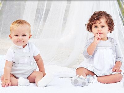 Los bebés más elegantes se van de bautizo