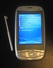 En el Congreso, Qtek 9100 gana a Blackberry