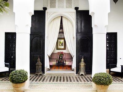 El diseñador Jasper Conran abre su primer hotel en el corazón de la medina de Marrakech