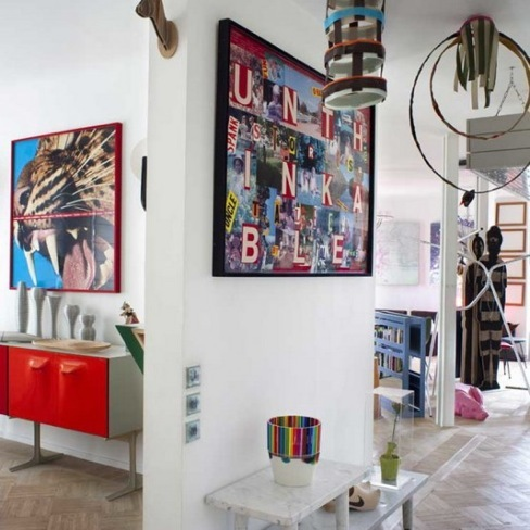 Puertas abiertas: un loft en París en estilo Art Decó