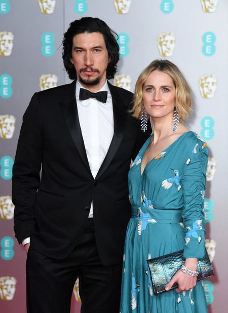 Estas han sido las parejas de famosos más destacadas de la alfombra roja de los Premios BAFTA 2020