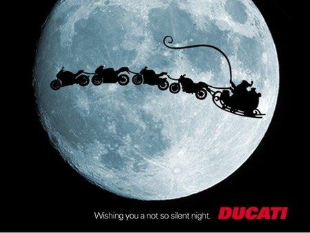 Ducati te desea una noche de Navidad no muy silenciosa
