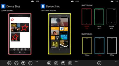 Device Shot, una mejor manera de presentar al público tu aplicación de Windows Phone