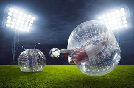 Bumperball para divertirte en una burbuja