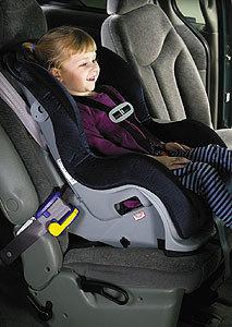 El asiento delantero del coche es el más peligroso