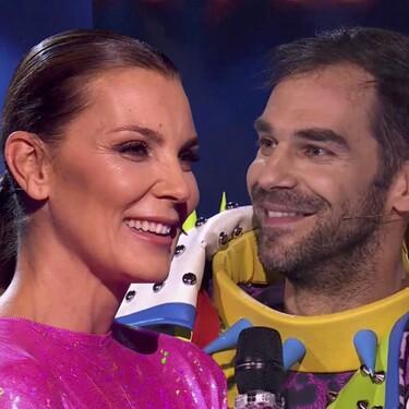 José Manuel Calderón (Perro) y Mar Flores (Flamenco), los famosos desenmascarados de la última gala de 'Mask Singer'