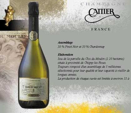 Le Champagne CATTIER, viñedos centenarios y premios actuales.