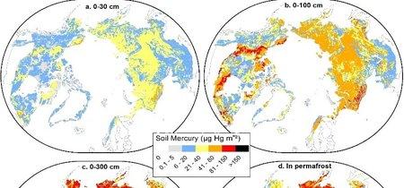 La peor noticia ecológica en lo que llevamos de año: el permafrost contiene cantidades masivas de mercurio y se está descongelando