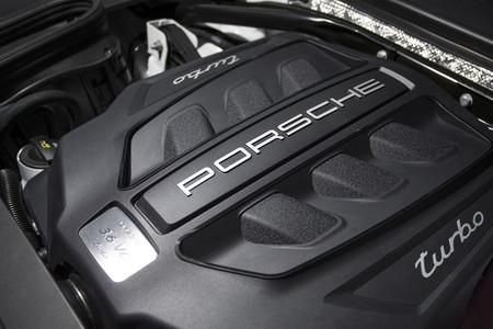 Porsche Macan Turbo motor