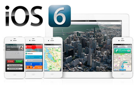 iPhone 5 con iOS 6