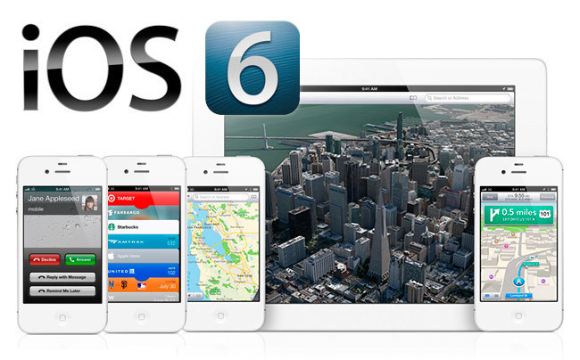 iPhone 5 con iOS 6