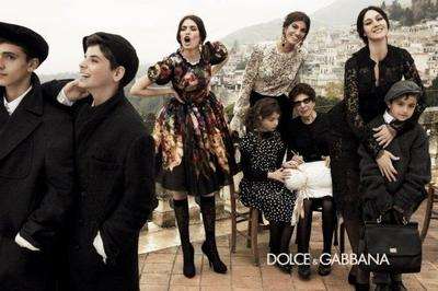 Campaña Otoño-Invierno 2012/2013 de Dolce & Gabbana