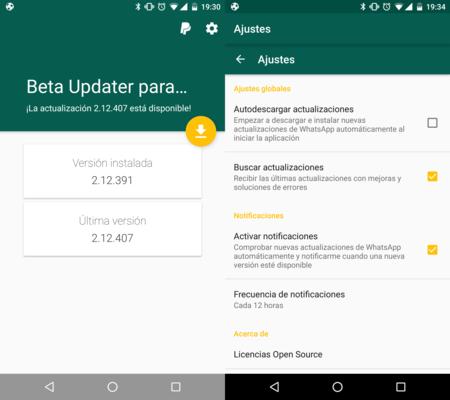 Cómo estar siempre actualizado automáticamente a la última versión beta de WhatsApp