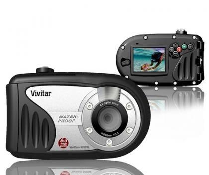 PMA2007: cámara acuática Vivitar