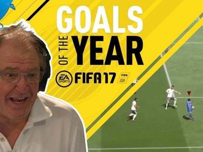 Los mejores goles de FIFA 17 narrados por Ray Hudson