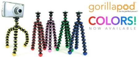 Nuevos Gorillapods, en colores y para cualquier <em>gadget</em>