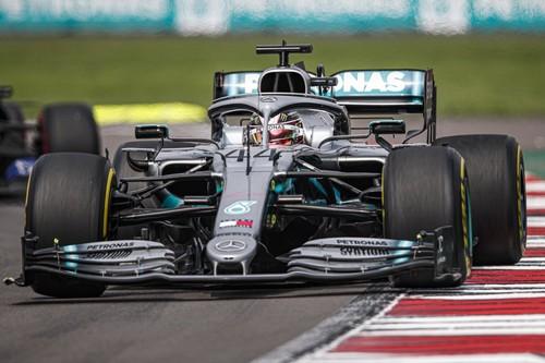 Lewis Hamilton deja casi sentenciado el mundial de Fórmula 1 en México tras otra pifia de Ferrari
