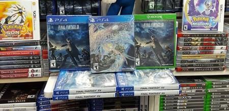 Final Fantasy XV ya se está vendiendo en algunos lugares y esto revela un gran parche de día uno