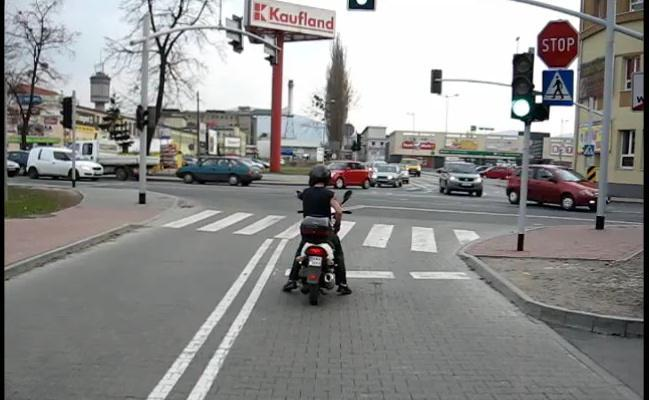 El cani del semáforo