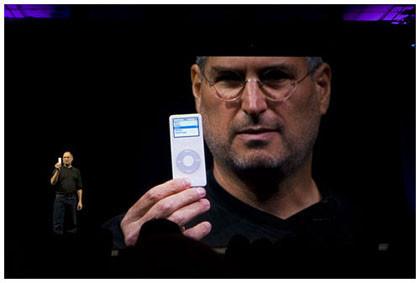 Entrevista a Steve Jobs en Newsweek para hablar sobre el iPod