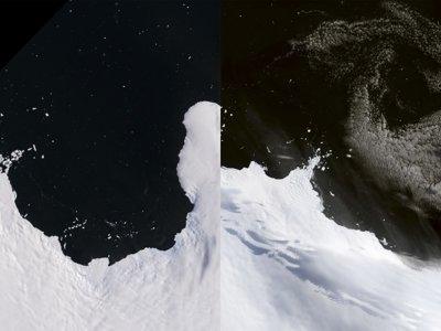 40 años de deshielo de la Antártida vistos desde el espacio: así se derrite el continente