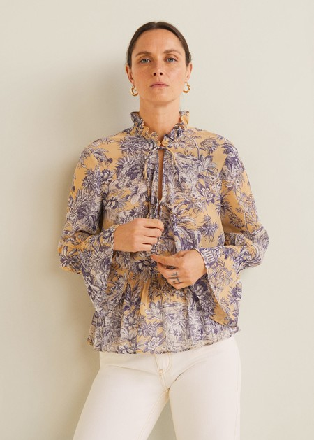 Blusas Con Volantes 10