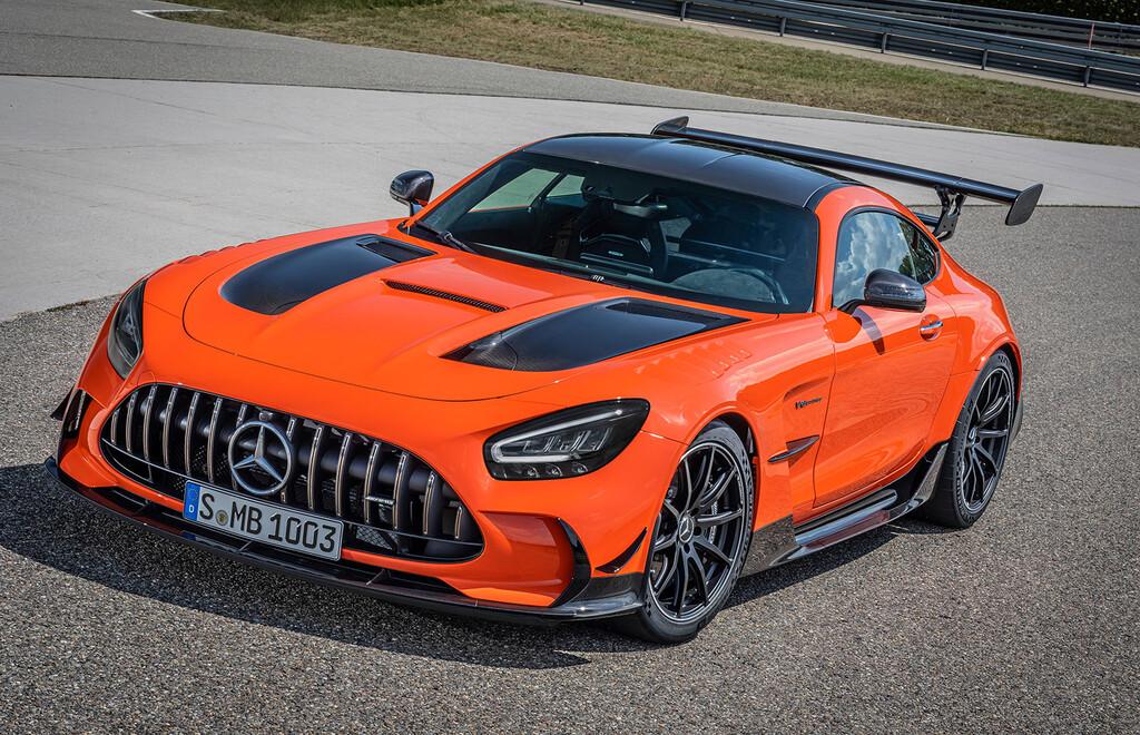 Mercedes-AMG GT Black Series: con 730 CV es el V8 más potente de AMG y ya está disponible desde 415.000 euros