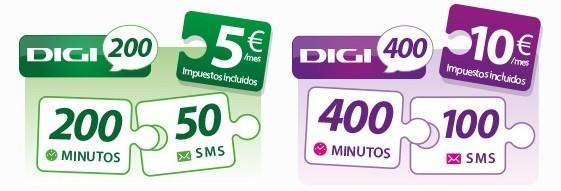 Digi Mobil también renueva su oferta: 400 minutos en llamadas por 10 euros en prepago