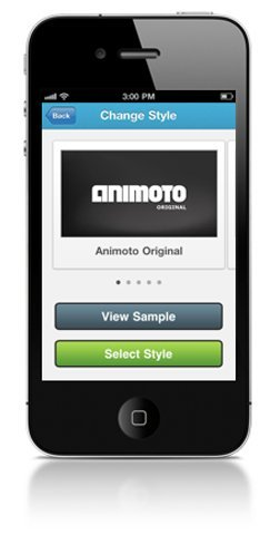 Animoto para iOS, envía presentaciones animadas con un toque distinto a tus contactos