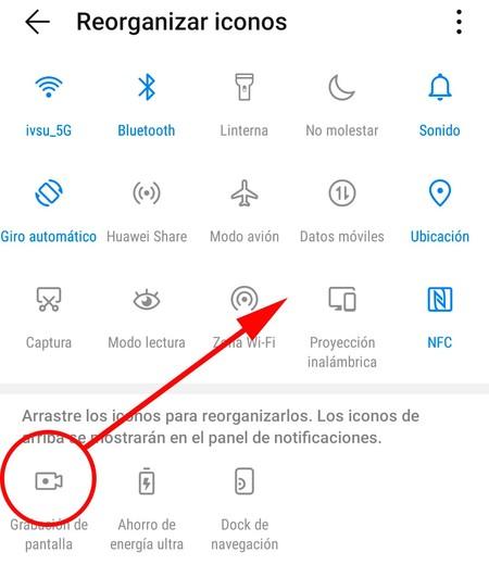 Grabar Pantalla Móviles Android