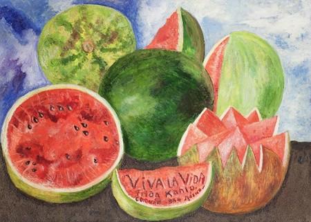 Pinturas Frida Kahlo Inspiradas Comida Frases Mas Inspiradoras Viva La Vida