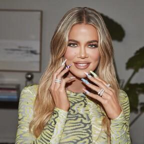 Khloé Kardashian se convierte en la imagen del Candy Crush All Stars y su nail art nos hace soñar con un mundo de golosinas