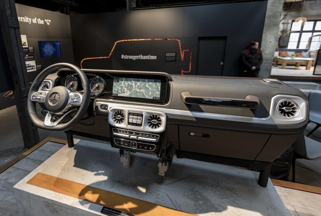 Mercedes Benz Clase G 2018 audio