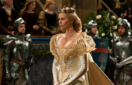 espectacular vestuario de blancanieves y la leyenda del cazador por