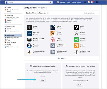 plataforma de aplicaciones de facebook
