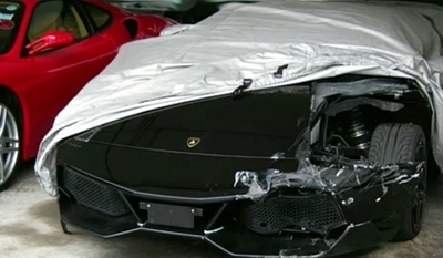 Dolorpasión™: Lamborghini LP670-4 SV y Ferrari F430 unidos por la desgracia en Singapur