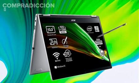 Este convertible con procesador i3 está a precio mínimo en Amazon: Acer Spin 3 SP313-51N por 649,99 euros