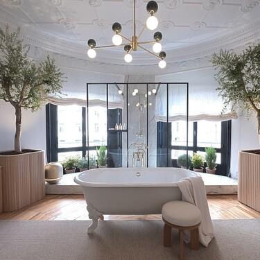 Inspiración para el baño: Descubre el espacio de inspiración parisina del siglo XIX de Jacob Delafon en Casa Decor